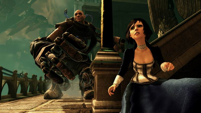 BioShock Infinite Elizabeth and handyman