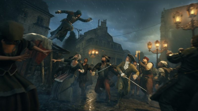 Assassin's Creed Unity - stealth series hits next generation consoles PS4 and Xbox One