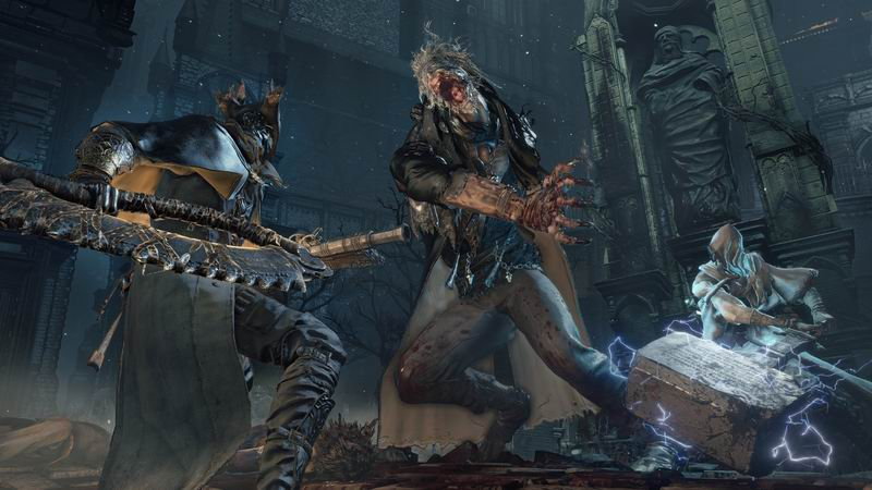 Bloodborne - PS4 exclusive from Dark Souls creator