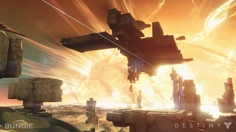 Destiny - Halo meets World of Warcraft, first-person shooter MMO - see also Borderlands Titanfall and Planetside