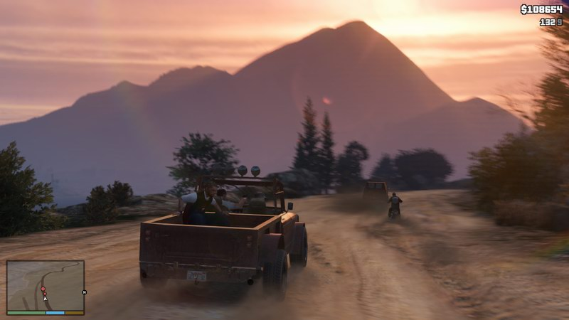 Grand Theft Auto V - action-adventure in Los Santos on an epic scale