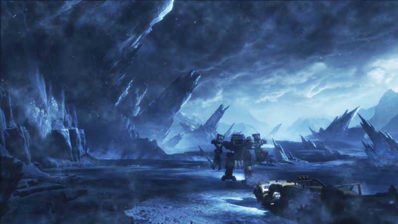 Lost Planet icy action-adventure with mechs, Akrid aliens and more