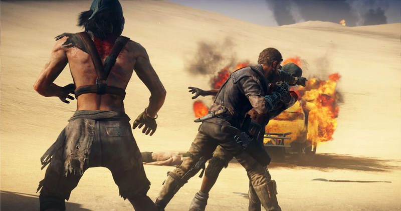 Mad Max less Fury Road and more generic dusty action adventure