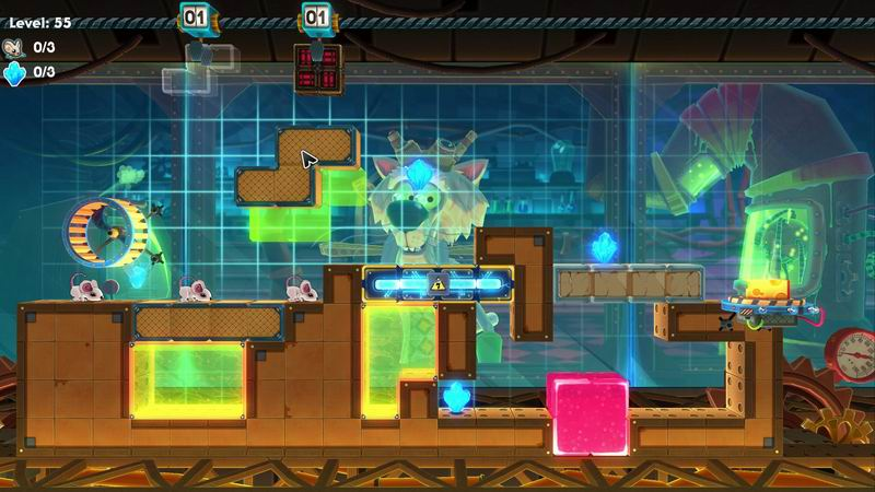 MouseCraft - Tetris meets Lemmings, rather than a Minecraft rip-off