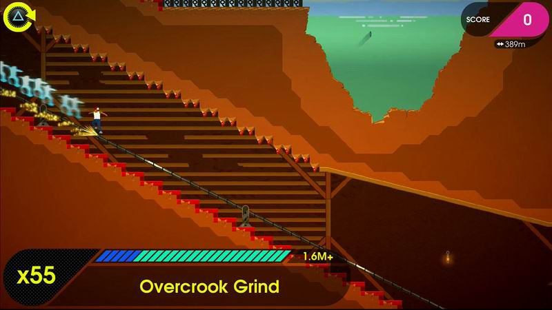 OlliOlli 2 for PS4 and PS Vita - Tony Hawk rival skateboarding game