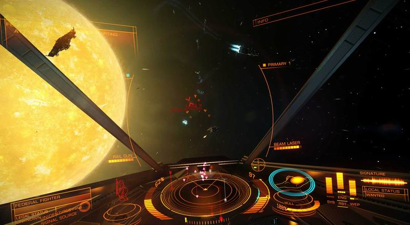 Elite Dangerous now with dredger ships and ninth galaxy