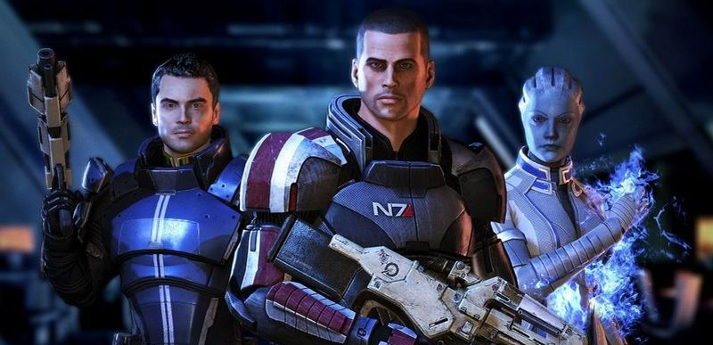 Mass Effect series - role-playing with choice