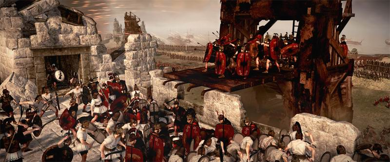 Total War Rome II realtime strategy gaming goes epic