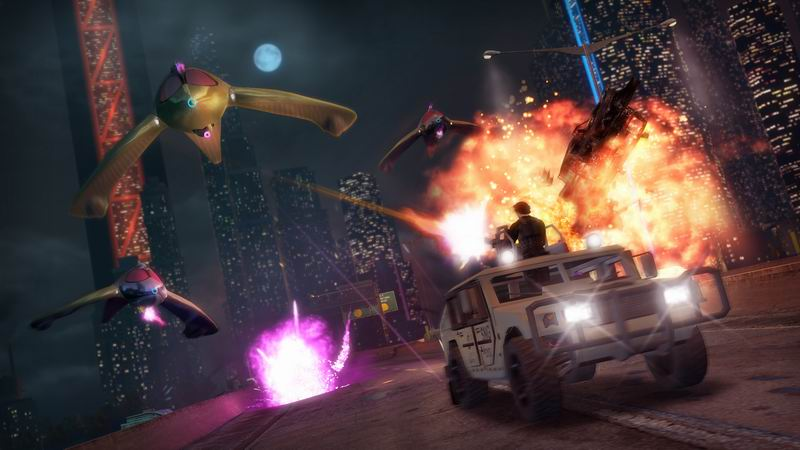 Saints Row IV completes change from Grand Theft Auto clone to inFamous/Crackdown superhero action game