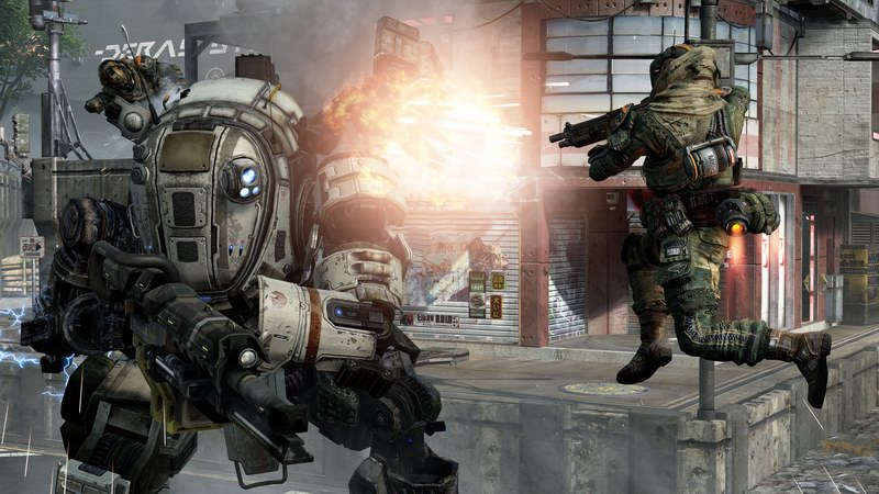 Titanfall - Respawn brings walking mech tanks to Call Of Duty action