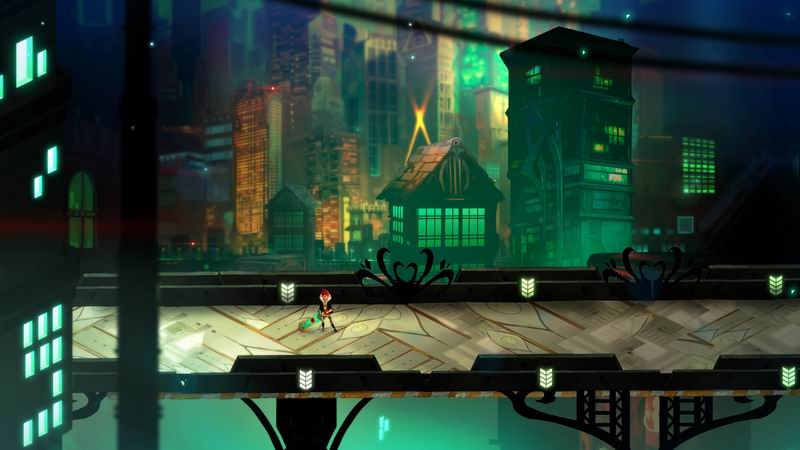 Transistor - beautiful action-adventure from the makers of Bastion