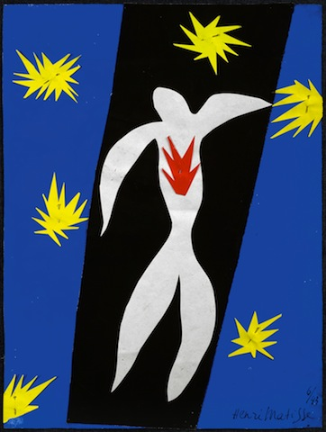 Matisse, The Fall of Icarus, 1943