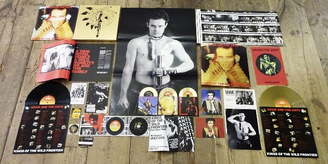 Adam and the Ants Kings Of The Wild Frontier Super Deluxe edition