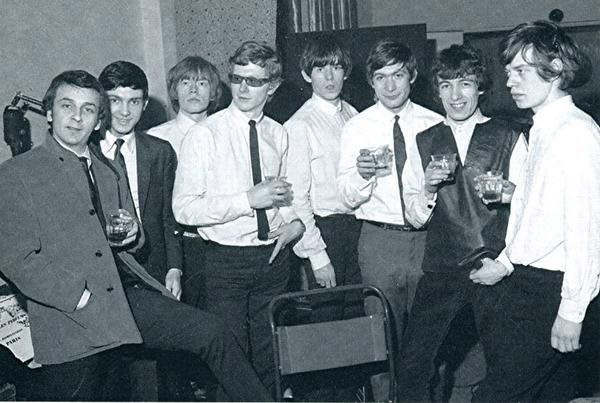 Phil Spector Andrew Loog Oldham The Rolling Stones 1964