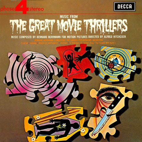 Bernard Herrmann  London Philharmonic Orchestra_Music From The Great Movie Thrillers