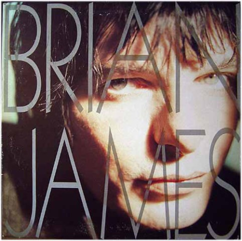 Brian James 1990 solo album cover