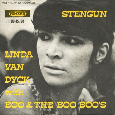 DIGGIN' IN THE GOLDMINE  DUTCH BEAT NUGGETS_Linda van Dyck with Boo & The Boo Boos Stengun