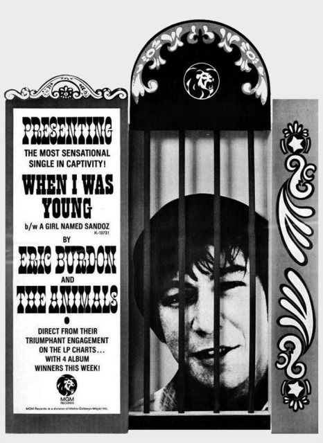 Eric Burdon & The Animals When I Was Young The MGM Recordings 1967-1968_When I Was Young ad