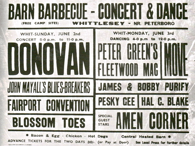Fairport Convention Sandy Denny 2 June 1968