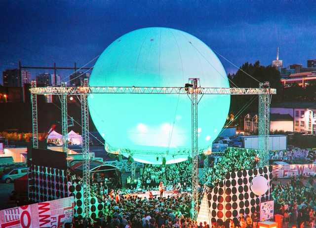 Flow Festival 2014 Balloon 360 Stage