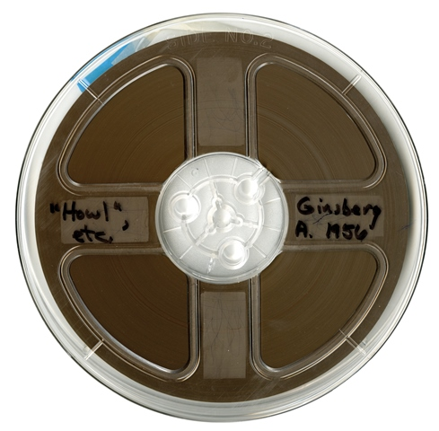 Ginsberg 1956 Reel courtesy of Allen Ginsberg Estate