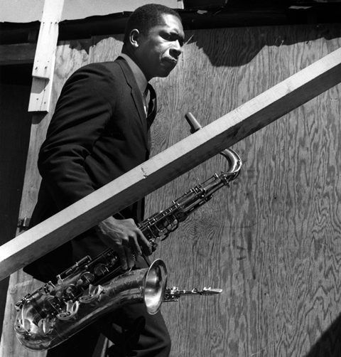 John Coltrane Giant Steps_ Newport Jazz Festival 1960_William Claxton