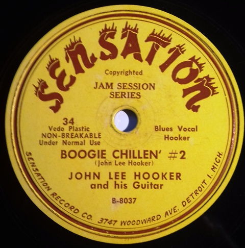 John Lee Hooker_Documenting The Sensation Recordings 1948-1952_boogie chillin #2