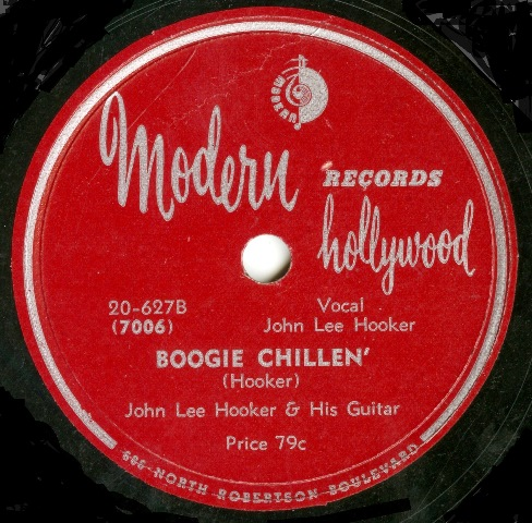 John Lee Hooker_Documenting The Sensation Recordings 1948-1952_boogie chillin