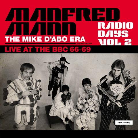Manfred Mann_Radio Days Vol 2 The Mike D'Abo Era Live At The BBC 66-69