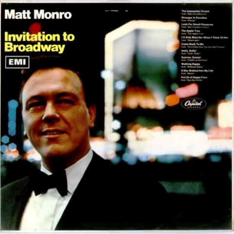Matt Monro Invitation To Broadway