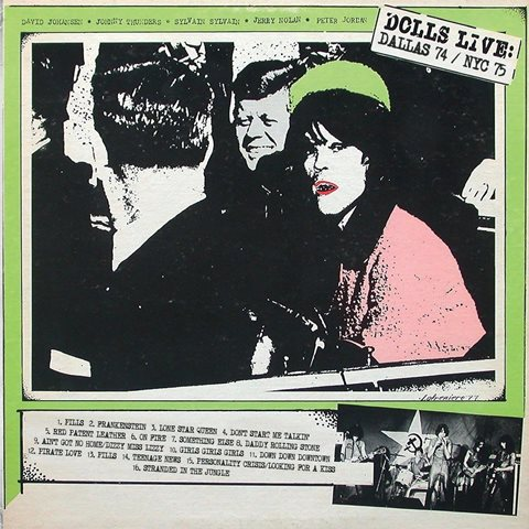 New York Dolls Personality Crisis Live Recordings & Studio Demos 1972-1975 Disc Five