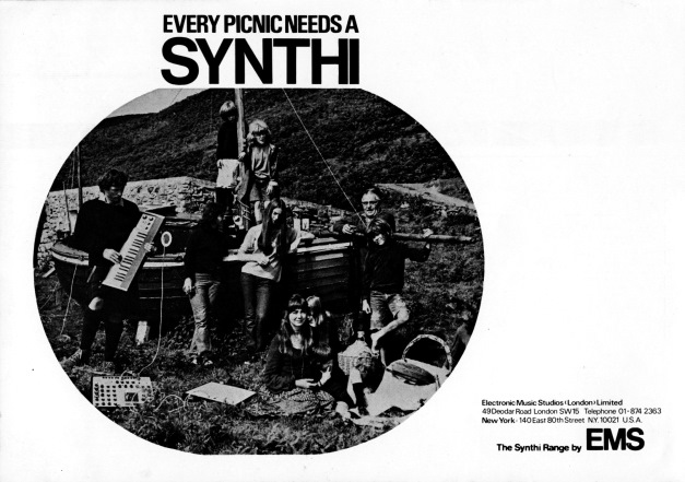 Peter Zinovieff_Every Picnic Needs A  Synthi