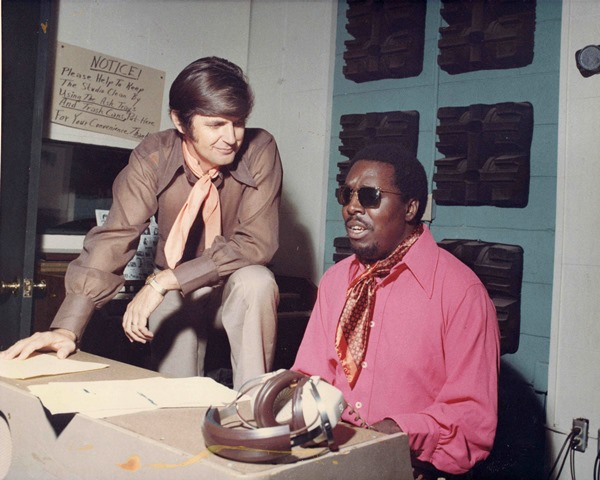 Rick Hall and Clarence Carter Muscle Shoals