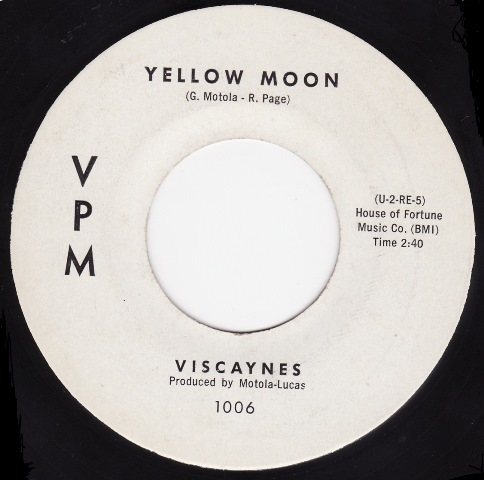 Sly and Viscaynes_Yellow Moon single