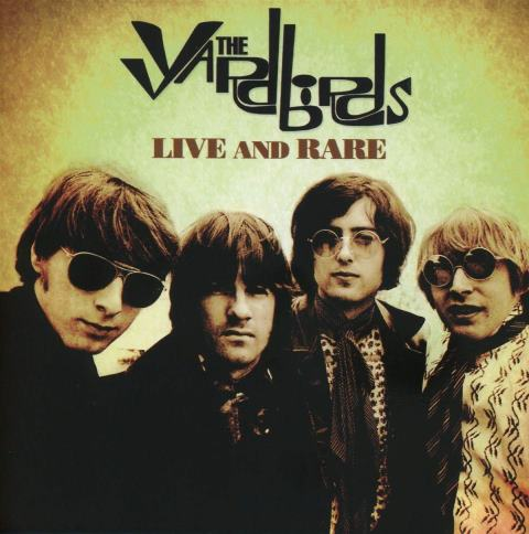 THE YARDBIRDS_LIVE AND RARE