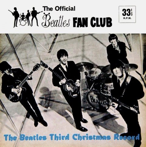 The Beatles Third Christmas Record 1965 cover