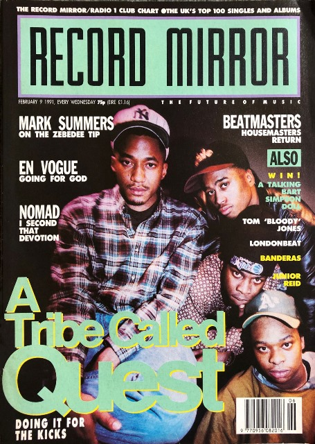 The Daisy Age_A Tribe Called Quest_Record Mirror