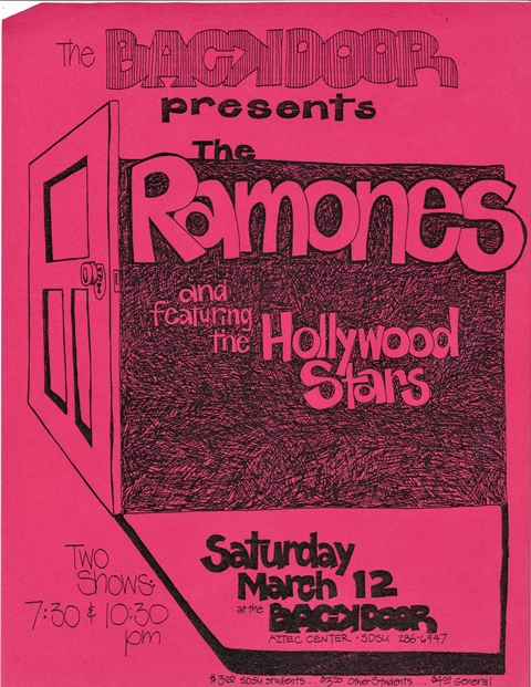 The Hollywood Stars_Ramones_March 1977