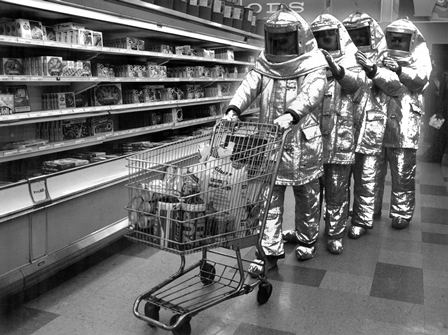 The Residents go shopping 1978