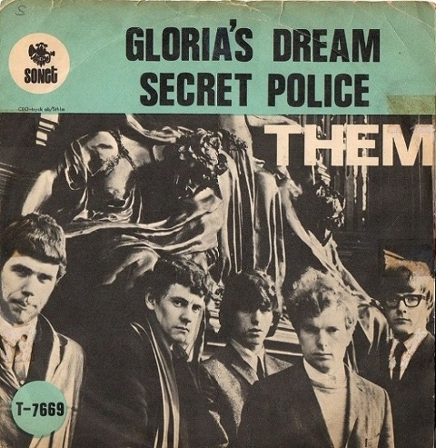Them Belfast Gypsies Sweden single September 1966