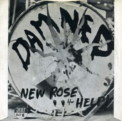 the damned new rose