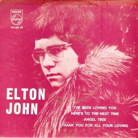elton john portugal ep 1968