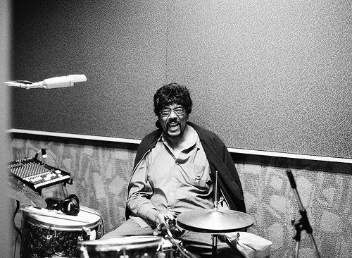 James Gadson behind the kit