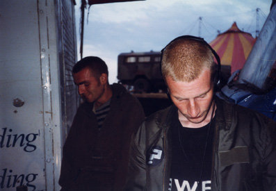 Mark Hawkins and DJ JE:5