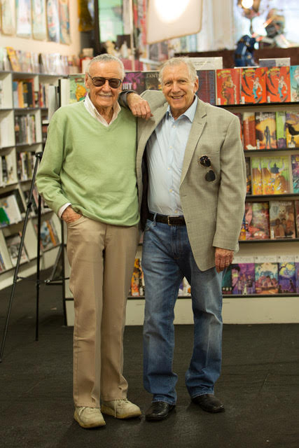 TV Producers Stan Lee and Gill Champion