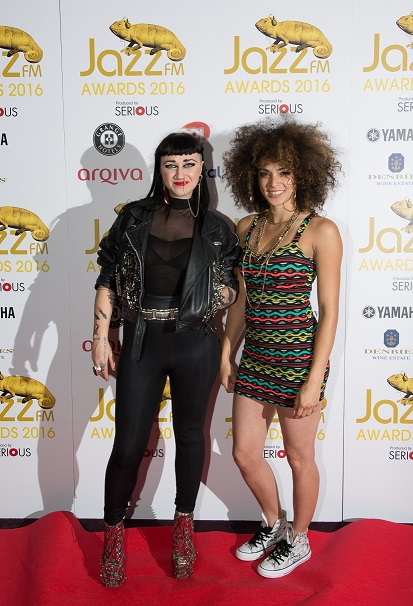 Nai Palm of Hiatus Kaiyote and Kandace Springs
