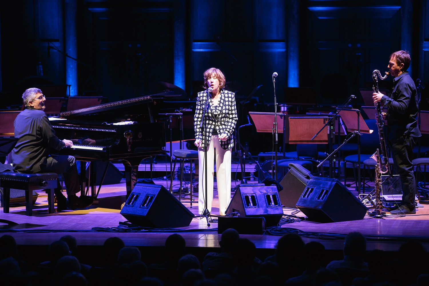 Norma Winstone with pianist Glauco Venier and reeds player Klaus Gesing