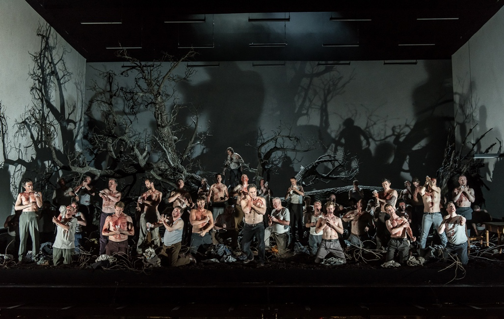 End of Act Two in Royal Opera Guillaume Tell