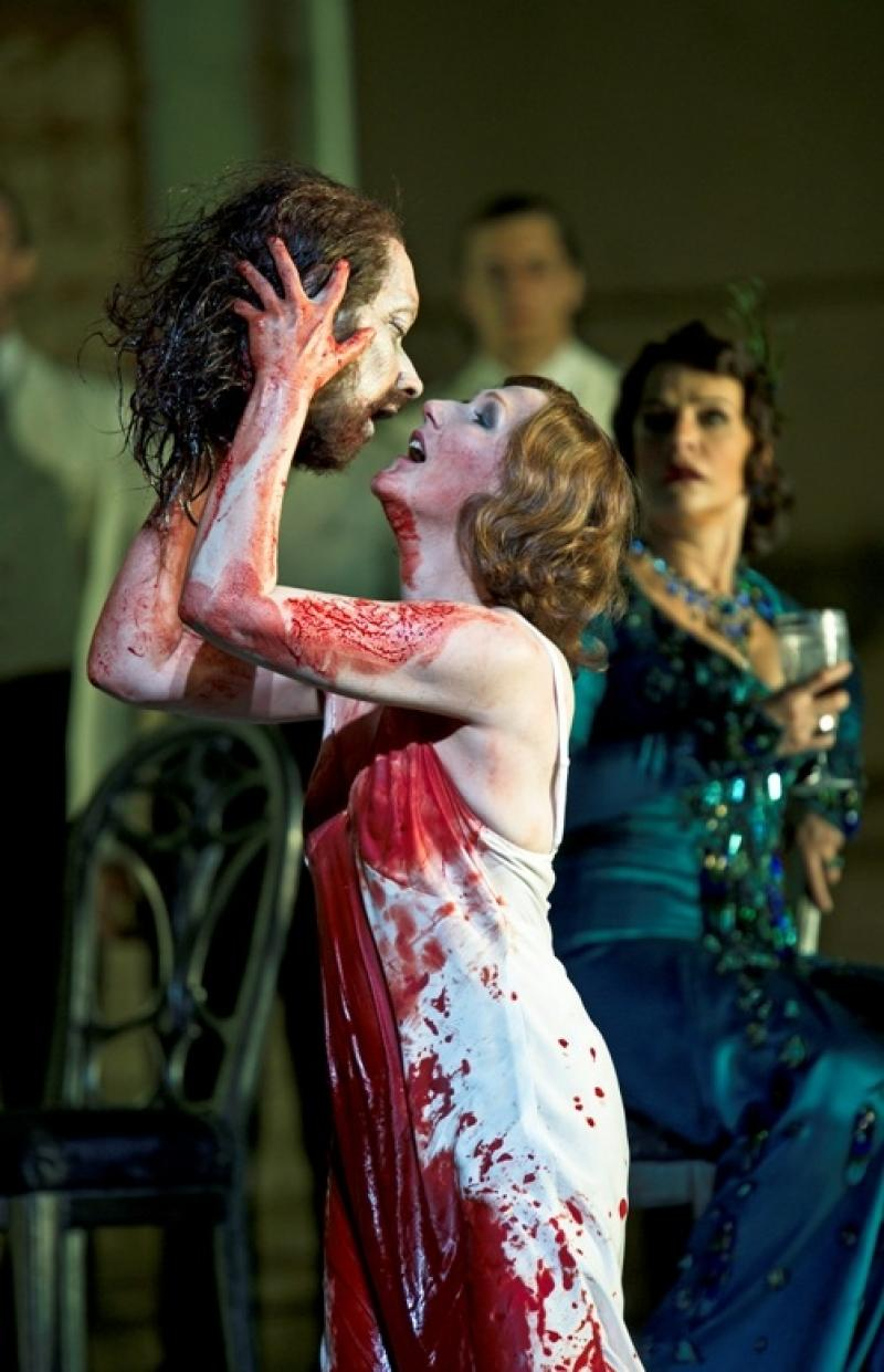 Angela Denoke as Salome at the Royal Opera House