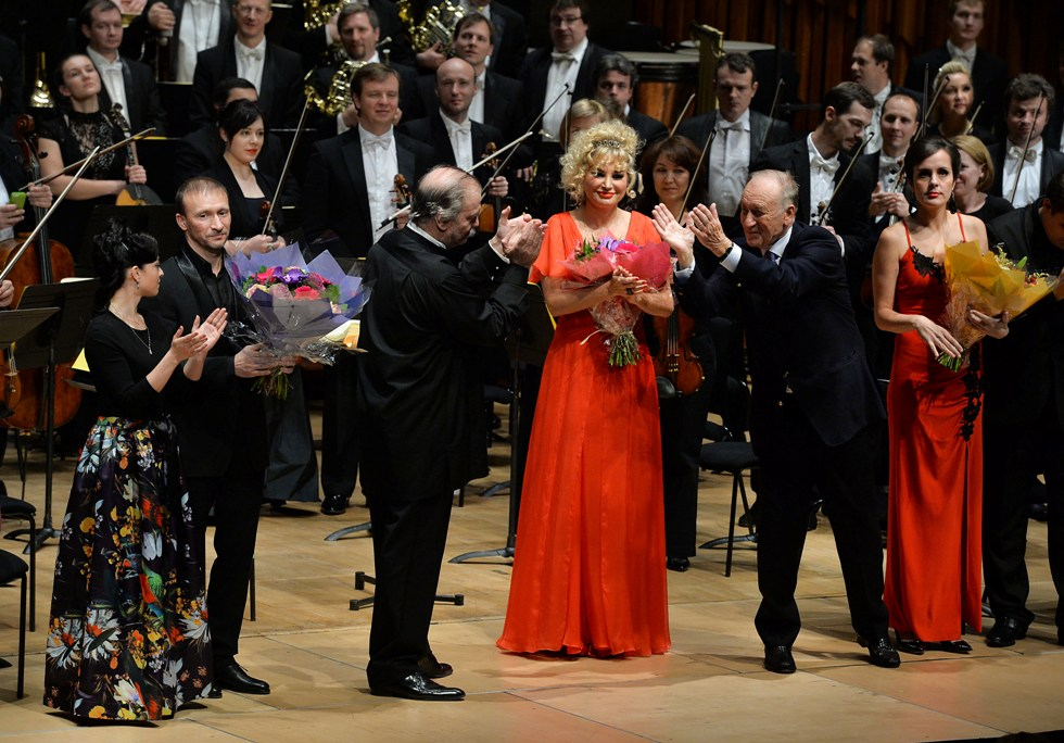 Shchedrin takes a bow for Levsha at the Barbican